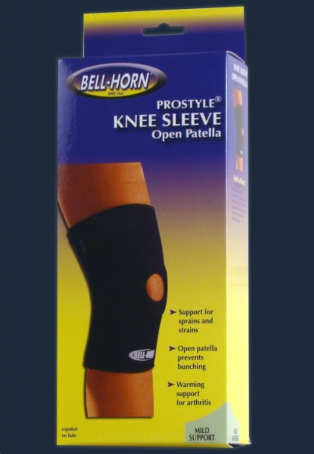 Where to find Knee Sleeve Open Patella Large in Seattle