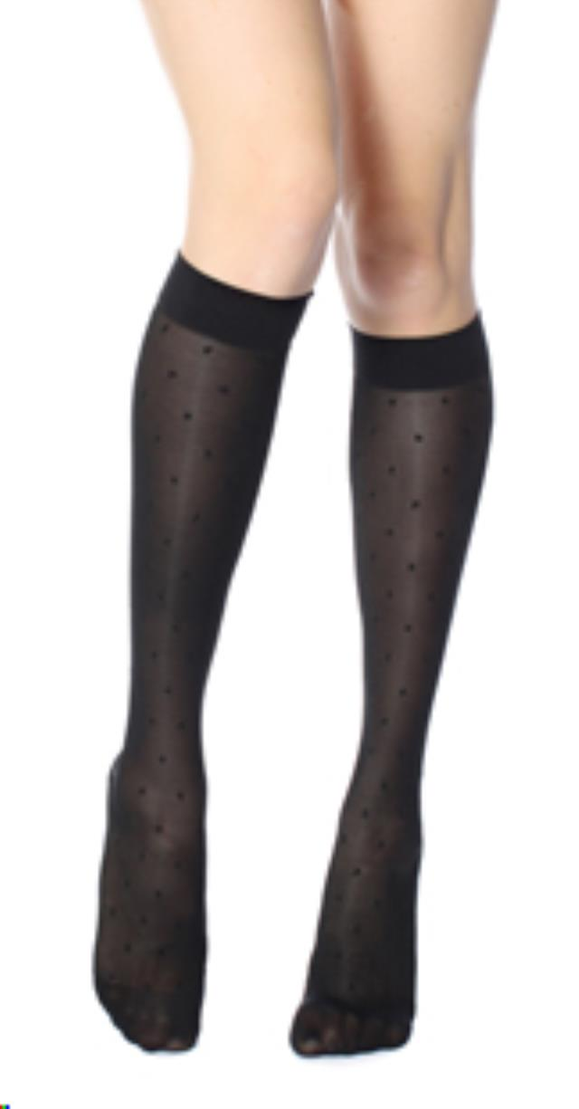 Where to find Sheer Dot 15-20 Black L in Seattle