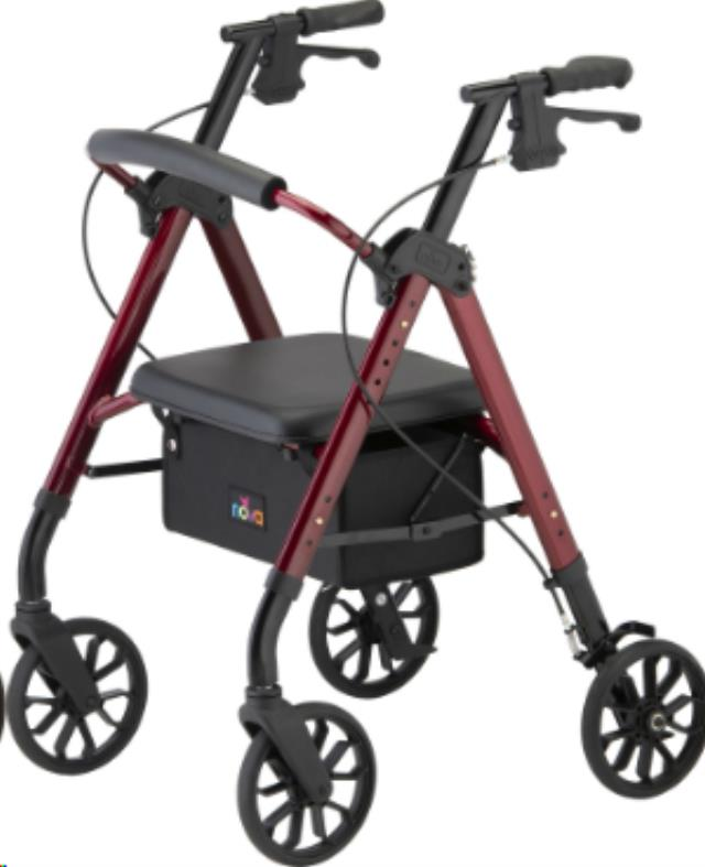 Where to find Star 8 Rollator Red in Seattle